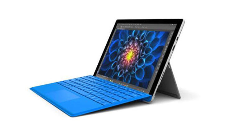 offerta microsoft store surface pro 4 con intel core m3 4 gb ram e 128 gb ssd a soli 629 euro. Black Bedroom Furniture Sets. Home Design Ideas