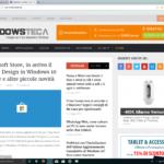 Microsoft Edge su ACEPC AK1