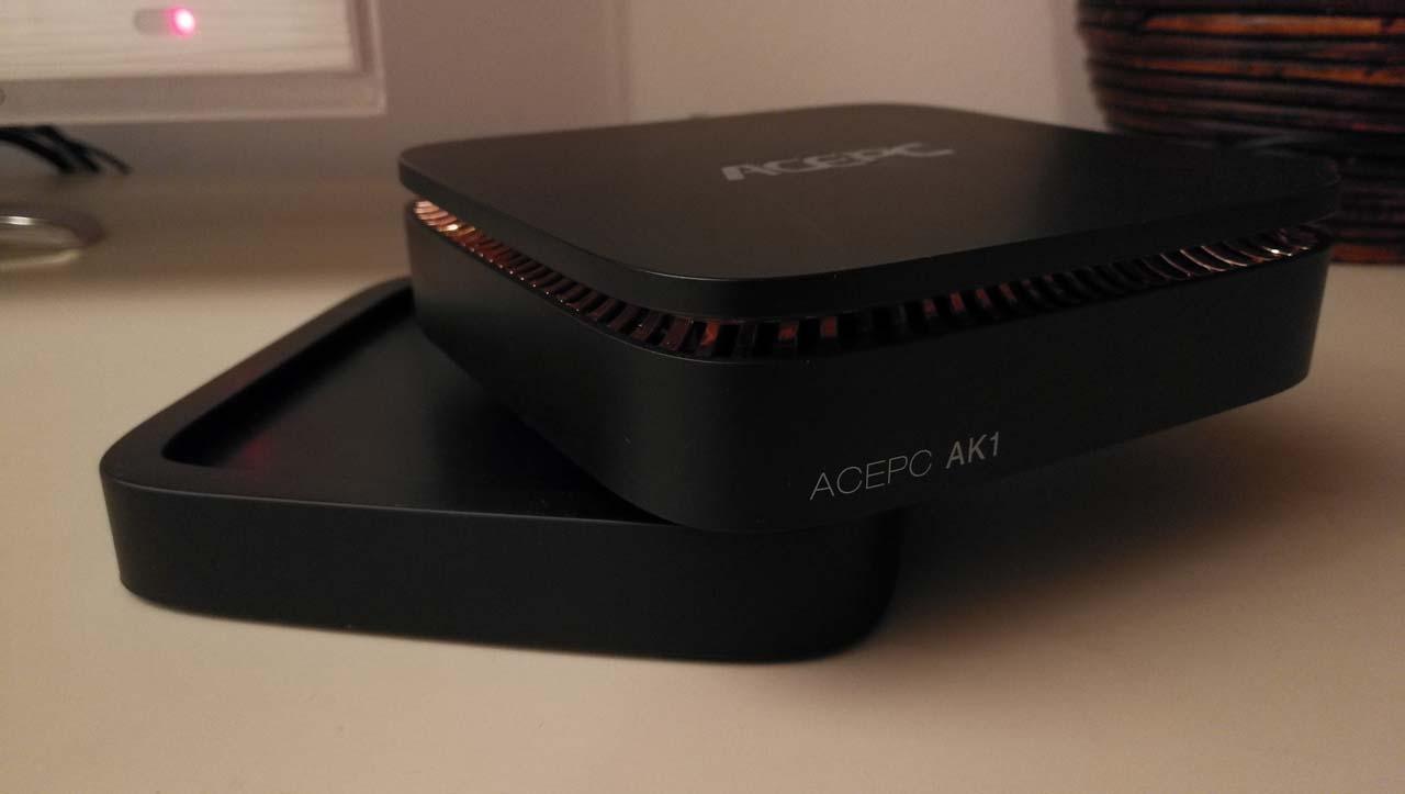Mini Recensione di ACEPC AK1, un miniPC con Windows 10 economico e