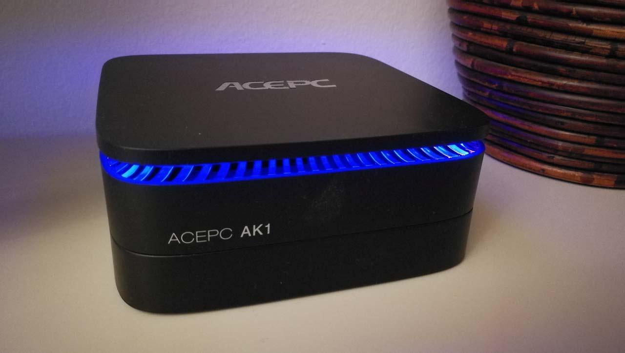 Mini Recensione di ACEPC AK1, un miniPC con Windows 10