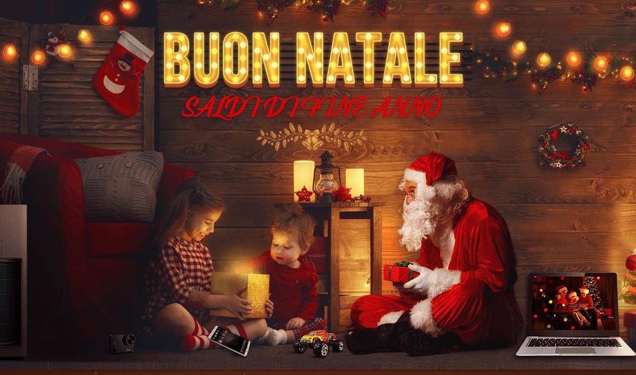 Natale: Per regali spesa media 166 euro