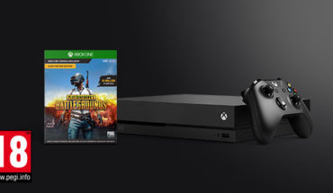 Xbox One X con Playerunknown's Battlegrounds