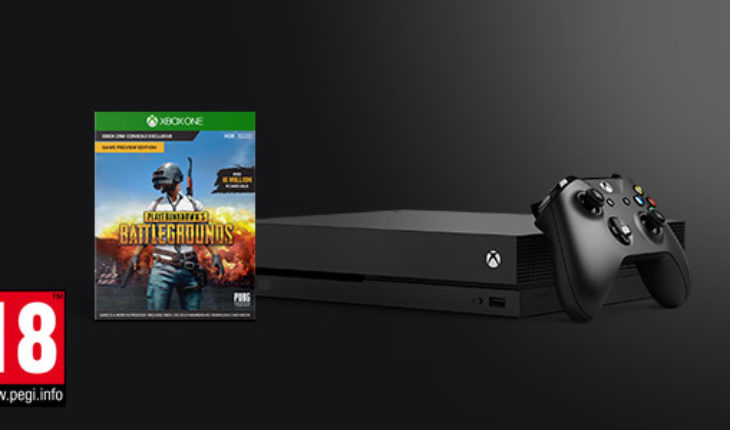 Xbox One X con Playerunknown's Battlegrounds