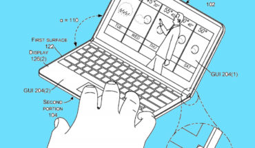Brevetto Microsoft di dispositivo pieghevole
