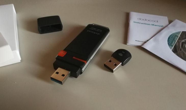Dongle Wi-Fi dodocool AC600 e AC1200