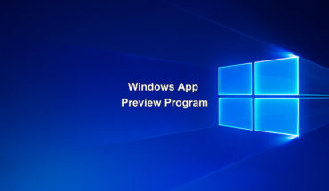 Windows App Preview Program