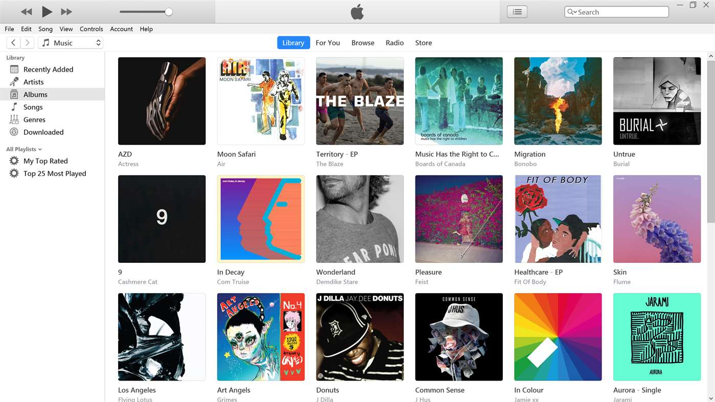 ITunes disponibile al download sul Microsoft Store