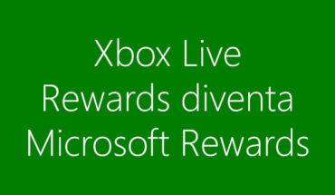 Xbox Live Rewards diventerà Microsoft Rewards