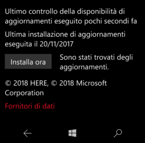 Mappe Offline Update
