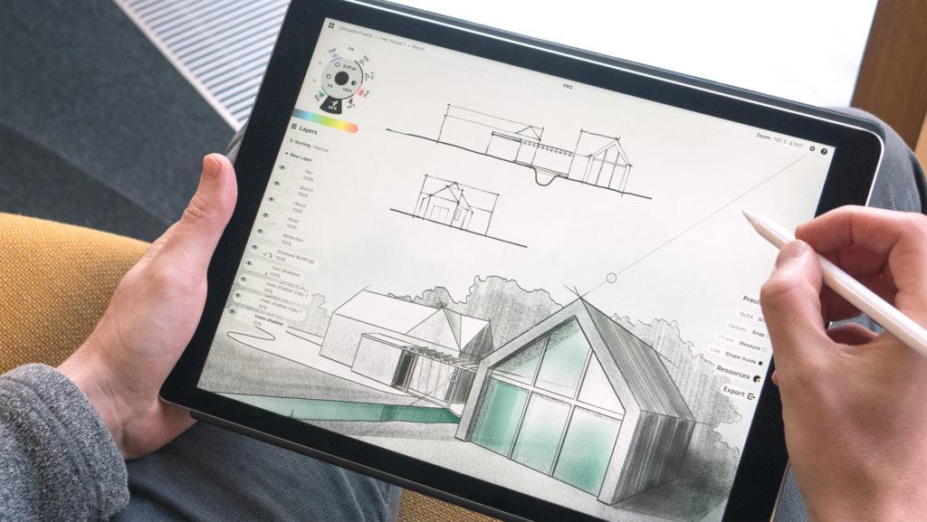 Concepts la pluripremiata app per disegnare creare for Disegnare progetti