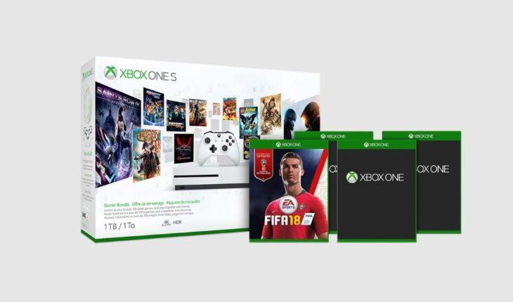 Xbox One S + 4 giochi
