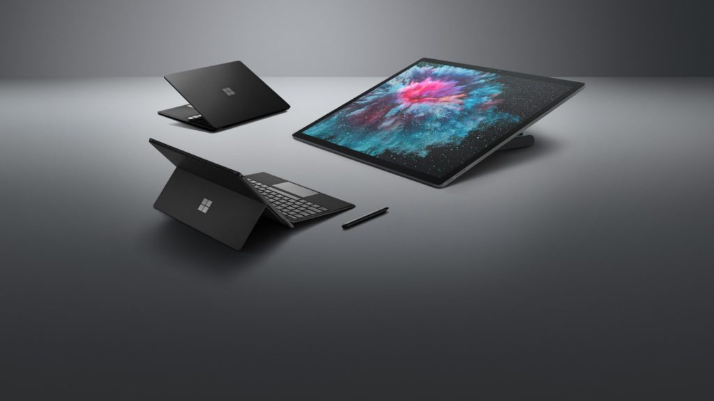 Nuovi Surface 2018