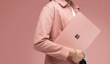 Surface Laptop 2 rosa