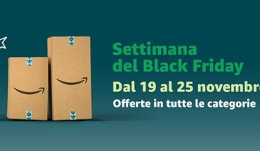 Settimana Black Friday Amazon