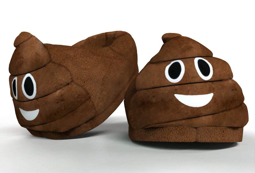 """Pantofole emoticon """"Cacca"""""""