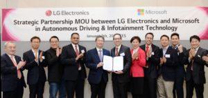 Partnership LG-Microsoft