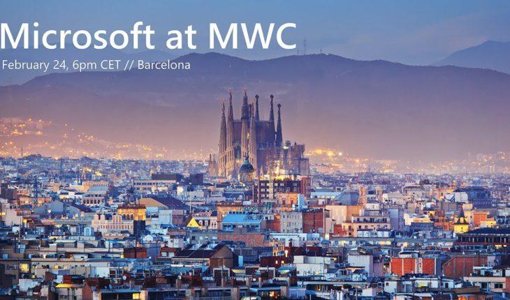 Keynote Microsoft MWC19