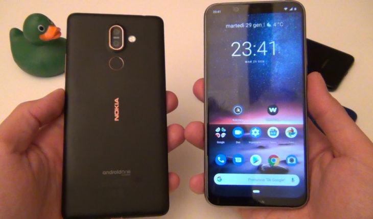 Nokia 8.1 - Nokia 7 Plus
