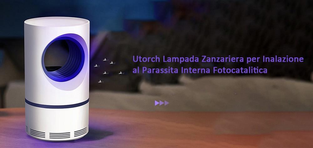 Lampada Utorch anti-zanzara