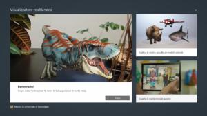 Visualizzatore 3D (Realtà Mista)