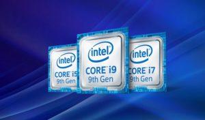 Intel Core di 9^ generazione