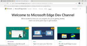 Microsoft Edge basato su Chromium