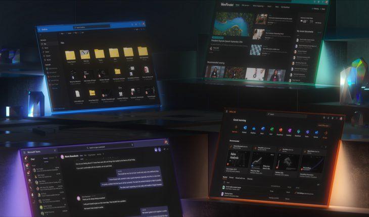 Modalità Scura - Microsoft 365