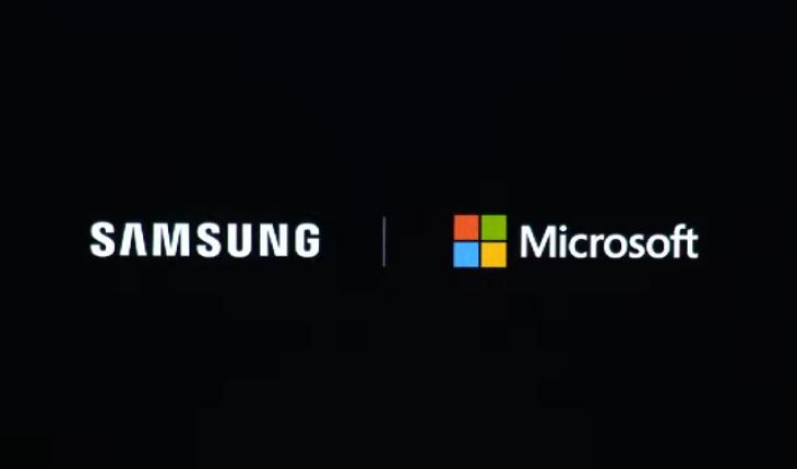 Samsung e Microsoft