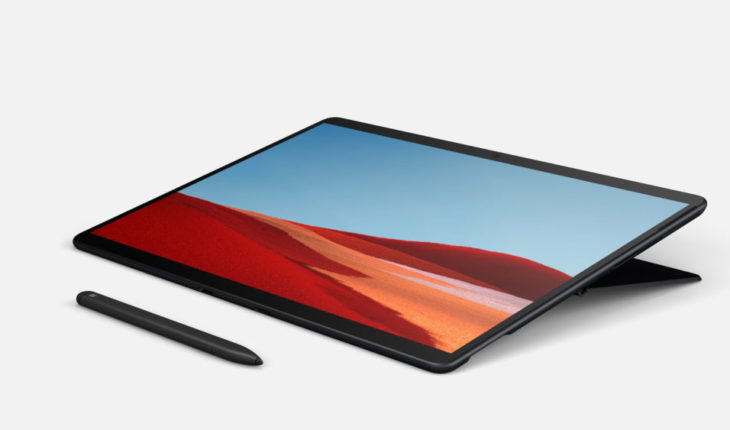 Surface Slim Pen e Surface Pro X