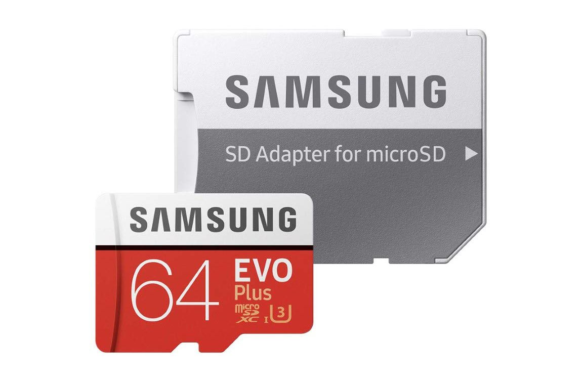 Micro SD Samsung EVO Plus da 64 GB
