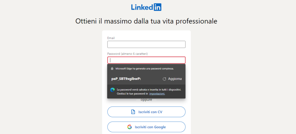 Generatore di Password