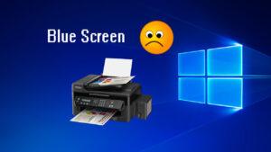 Blue Screen di Windows