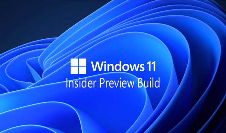Windows 11 - Insider Preview Build